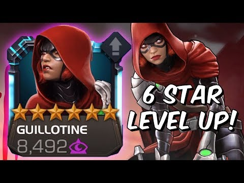 6 Star Guillotine Level Up, Abilities & Gameplay  Marvel Contest Of Champions