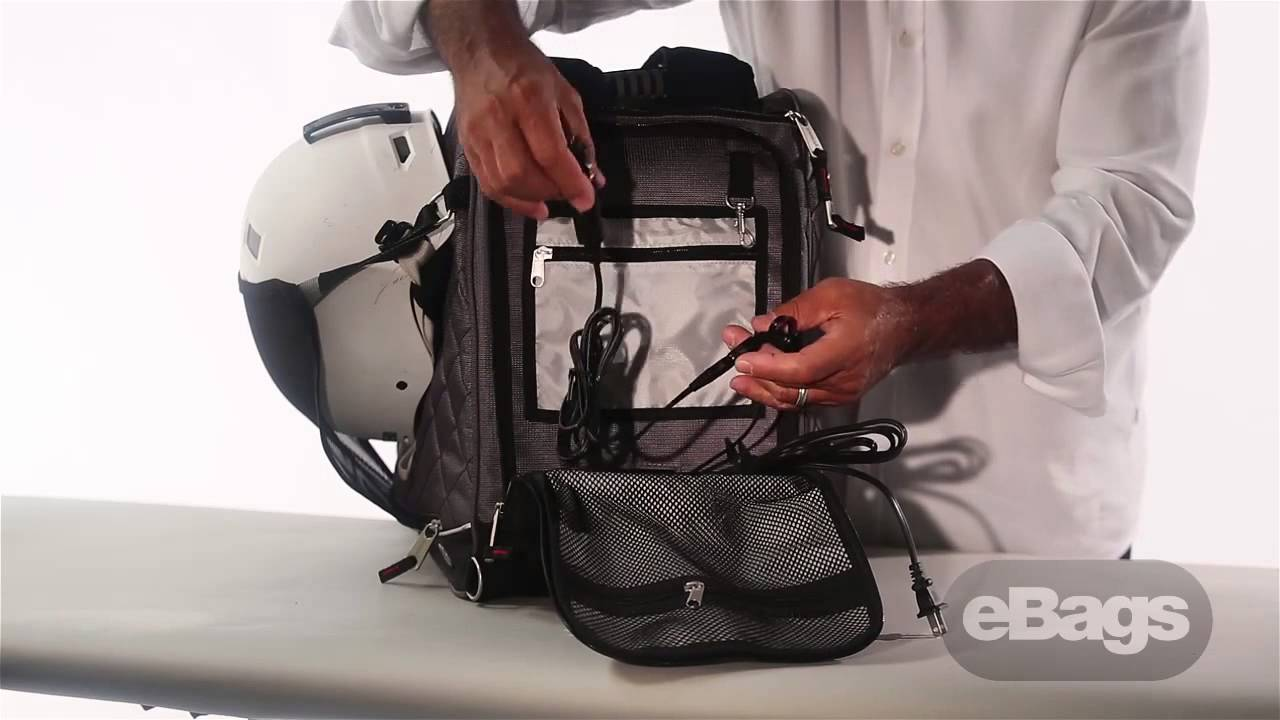 f4418354c2 Athalon Amped The Heated Boot Bag - YouTube