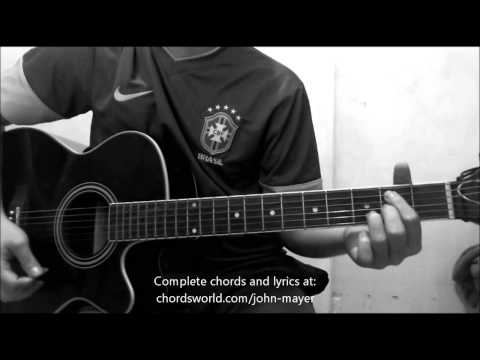 Daughters Chords by John Mayer - How To Play - chordsworld.com