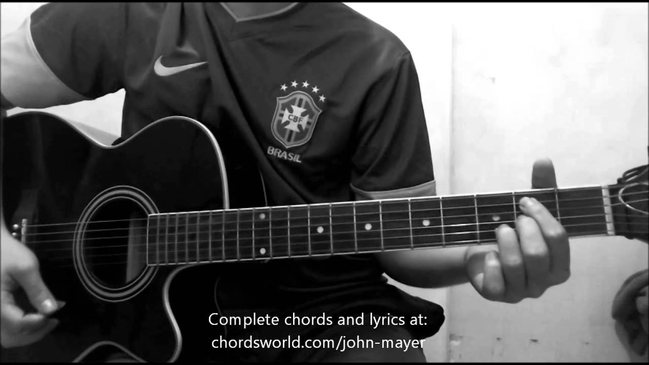 Daughters Chords By John Mayer How To Play Chordsworld Youtube