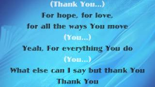 Mikeschair All I Can Do Thank You With Lyrics 2014