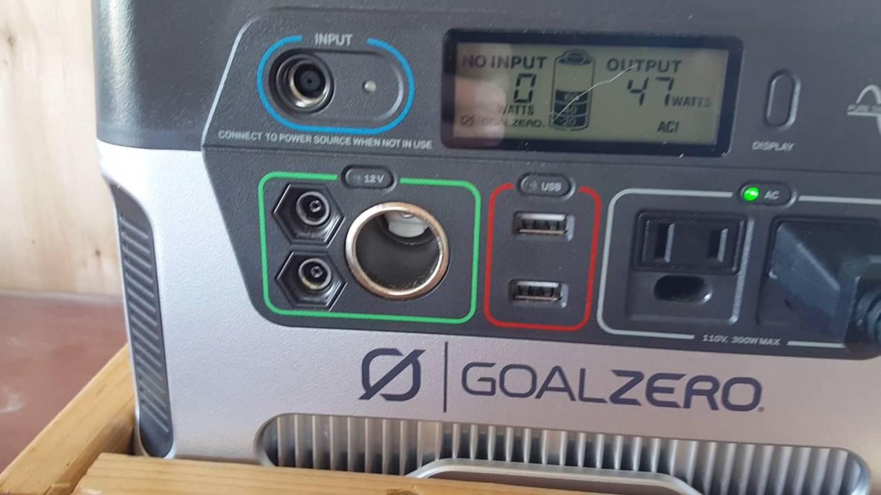 Solar Powered Mini Fridge Goal Zero Solar Yeti Mini Fridge Successful Youtube