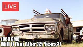 🔴 LIVE Abandoned 1969 GMC Utility Truck | Will It Run After 35 Years? | RESTORED