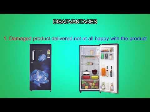 Whirlpool 190 L Direct-Cool Single-Door Refrigerator Review 205 IMPC PRM 4S SAPPHIRE RADIANCE-E