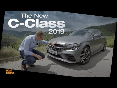 The New Mercedes C-Class 2019 / Test Drive & Review (German)