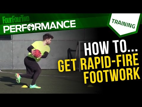 Speed for soccer | Footwork drill for football