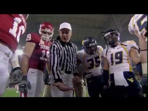 2007 West Virginia vs Oklahoma -  Fiesta Bowl