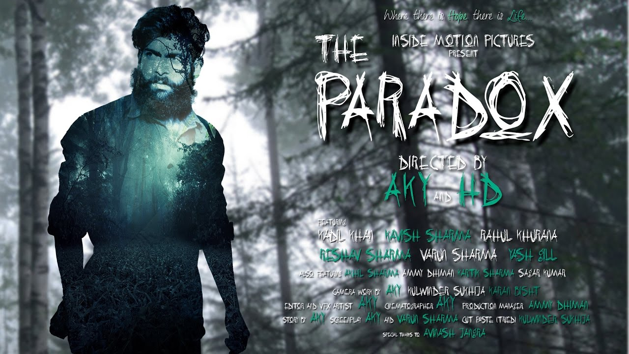 The Paradox | Horror Short Film | Inside Motion Pictures | INDIA | 2016
