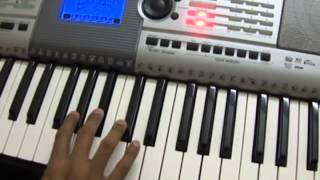 Play in Keyboard - Malayalam - Kireedam - Kanneer Poovinte Song
