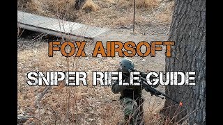 Beginners Sniping Guide in Airsoft with Matt from Fox Airsoft