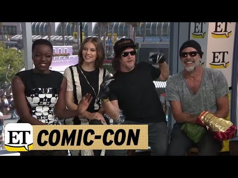 ComicCon 2018: The Walking Dead: Norman Reedus Calls Andrew Lincoln His BFF