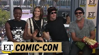 comic con 2018 the walking dead norman reedus calls andrew lincoln his bff