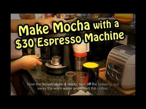 how to make espresso with a cheap machine
