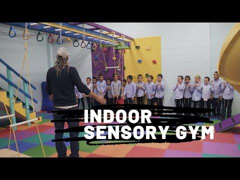 Indoor Sensory Gym.Sensory Integration To Improve Attention, Behavior And Motor Skills In Schools.