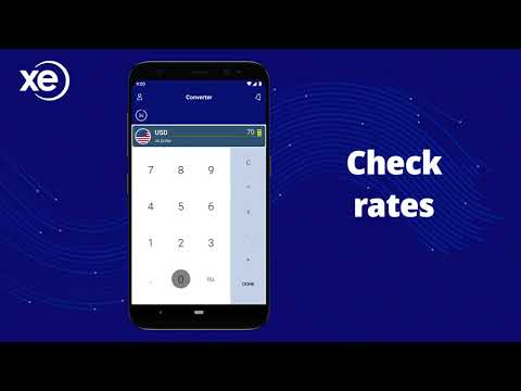 XE Currency App Preview for Android
