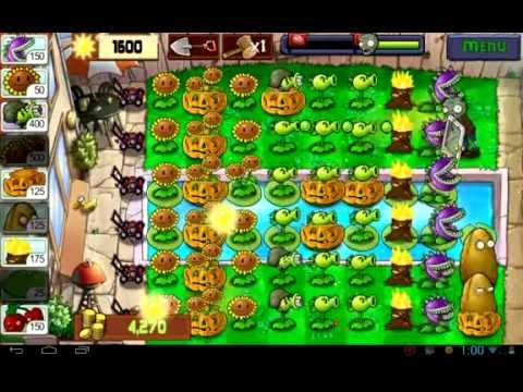 MAX LEVEL POWER-UP! Primal vs GARGANTUAR in Prison Plants ...