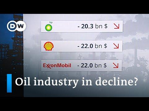 Oil companies mount huge losses in 2020 | DW News