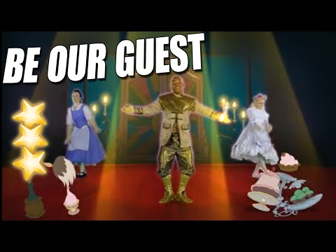 BEAUTY and the BEAST Just Dance  Disney  Party 2016 - Best 3 stars