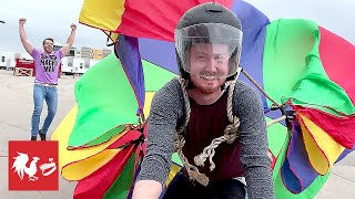 What NOT to do with a Parachute | RT Life