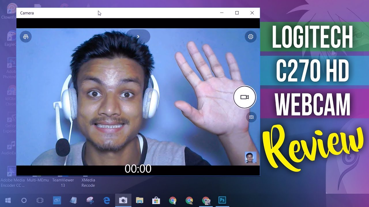 Logitech C270 HD Webcam Video Quality Test   Best Webcam? - YouTube