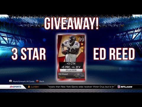 MUT 13: Flashback ED REED GIVEAWAY! Madden Ultimate Team