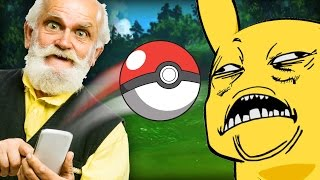 POKEMON GO ON THE CEMETERY (That Pokeyman Thing Your Grandkids Are Into)
