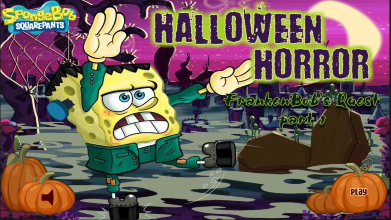 Nick Games: Spongebob Squarepants - Halloween Horror: Franken ...