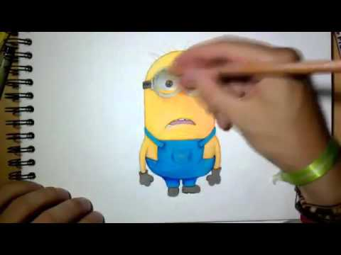Tutorial Gambar Minions Youtube