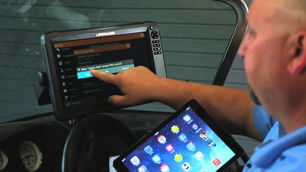 Lowrance Off-Road In-Dash Elite-7 Ti GPS 7