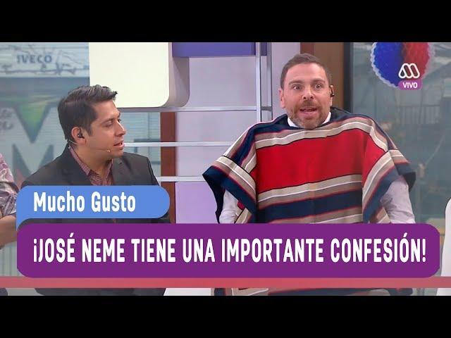 ¡Jose? Antonio Neme tiene una importante confesion! - Mucho Gusto 2017