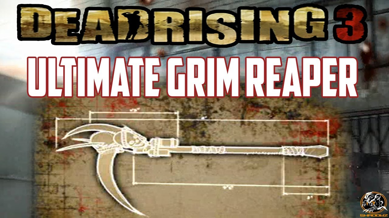 Dead Rising 3 Ultimate Grim Reaper Blueprint Location