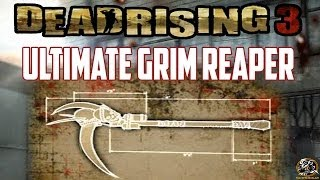 Dead Rising 3 - ULTIMATE GRIM REAPER BLUEPRINT LOCATION (Super Combo Weapon Guide)