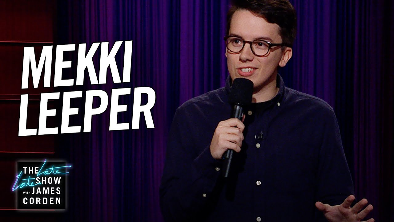 Mekki Leeper Stand-Up on 'The Late Late Show'
