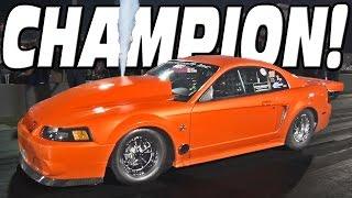 Nitrous Powered Mustang...This Car SCREAMS!!