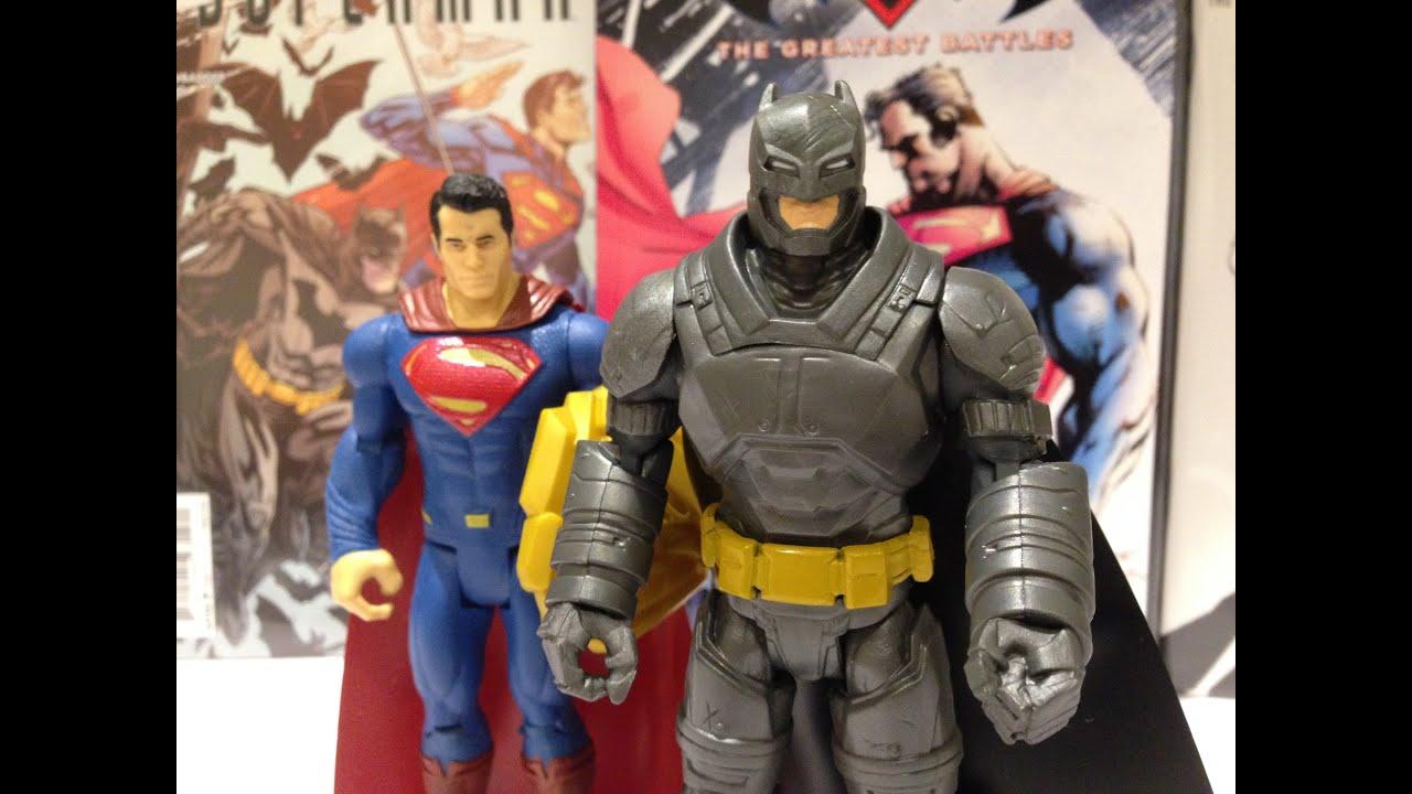 Mattel Batman vs Superman Dawn of Justice Battle Armor Batman 6/' Figure
