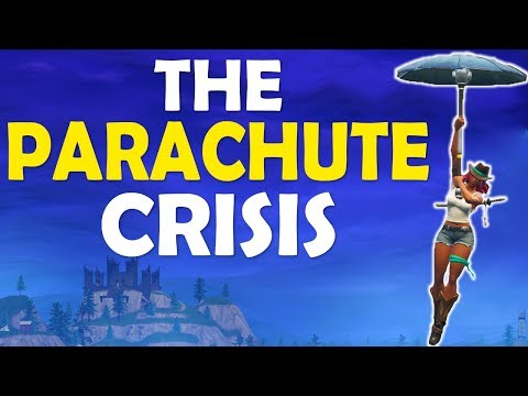 FORTNITE PARACHUTE CRISIS | GAME GOING DOWNHILL? | BUILD BATTLES - (Fortnite Battle Royale)