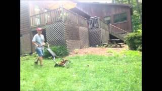 Fiskars 6201 18-Inch Staysharp Max Reel Lawn Mower