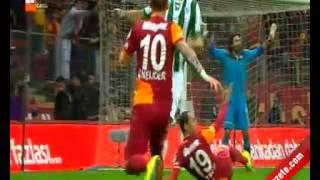 Galatasaray 2-0 Bursaspor Gol Selçuk İnan