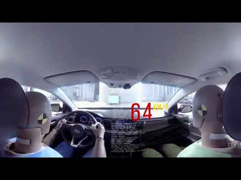 Full Scale Crash Test and Active Safety Test in Virtual Reality