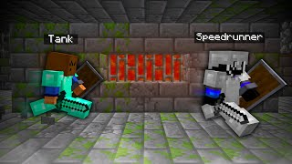 Minecraft Speedrunner VS Full Diamond Hunter