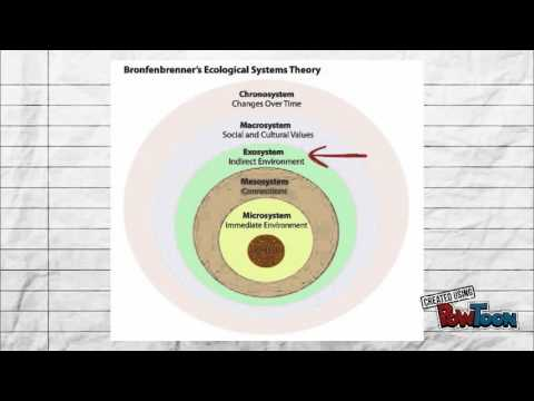 urie bronfenbrenner ecological system