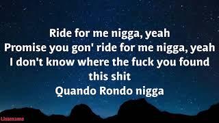 Quondo Rondo - Out of Space ( Lyrics)