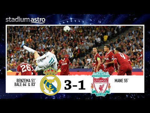 Real Madrid 3-1 Liverpool | UCL Final Highlights | Astro SuperSport