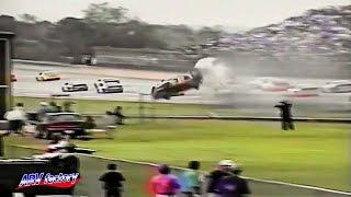 Rusty Wallace Big Crash 1993 NASCAR Winston 500