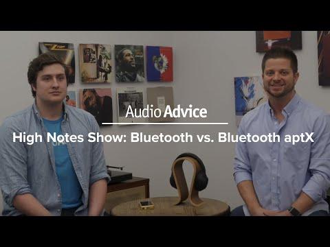 Bluetooth vs  Bluetooth aptX - YouTube