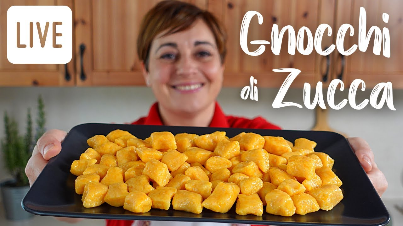 Ricette Gnocchi Con Zucca.Gnocchi Di Zucca Fatti In Casa Ricetta Facile In Diretta Fatto In Casa Da Benedetta Youtube