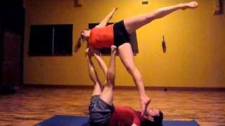 Advanced AcroYoga Lesson #1 - London Spin Progressions