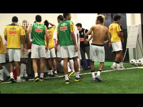 BASTIDORES - Santos 4 x 1 Atlético-PR