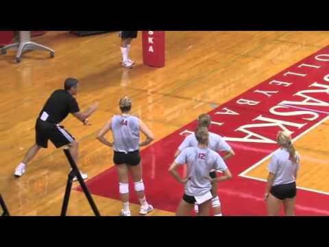 Watch Nebraska's John Cook Teach Back Setting! - Volleyball 2016 #4