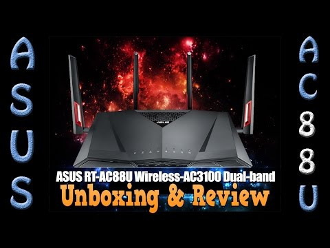 Asus AC88U AC3100 Unboxing and Detailed Router Review